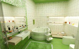 yesil-banyo-dekorasyonu-nasil-yapilir