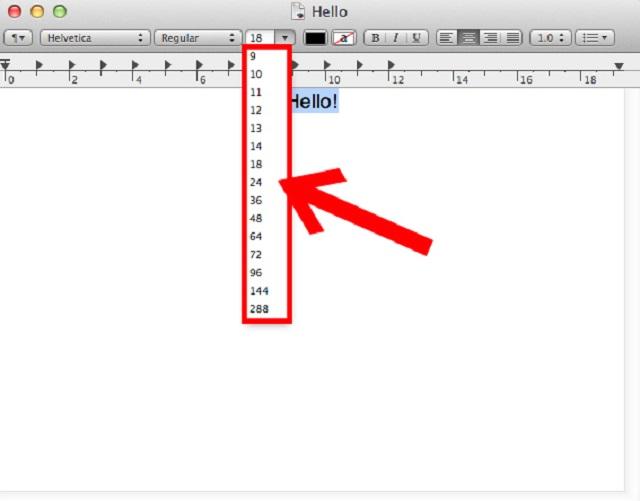 mac-text-editordeki-font-boyutlari-nasil-degistirilir-adim4