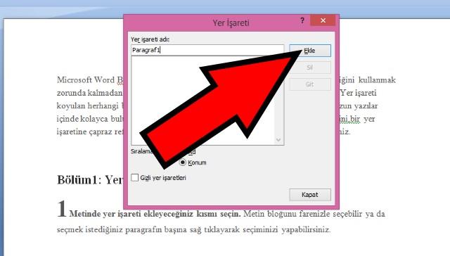microsoft-word-de-yer-imi-isareti-ekleme-adim4
